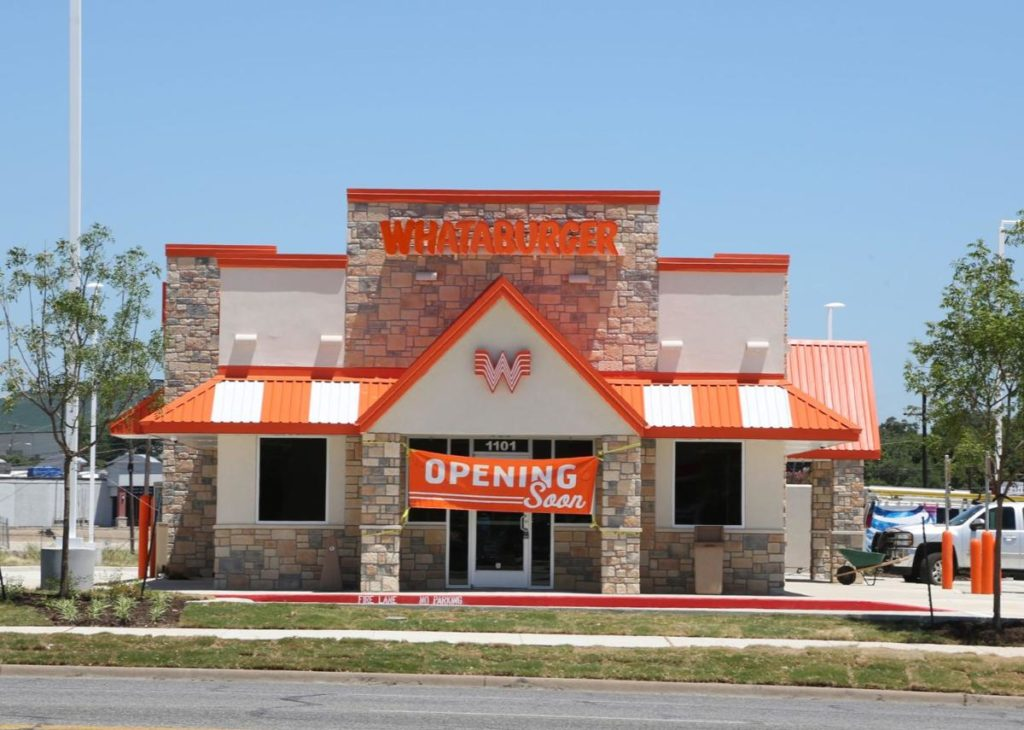 Whataburger Opening Store
