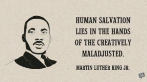 Martin Luther King Motivation